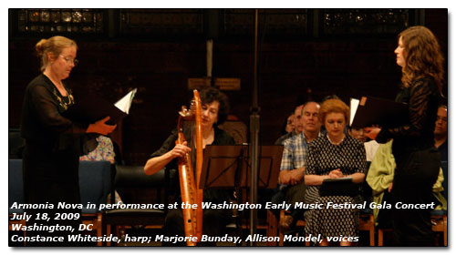 Armonia Nova at the Washington Early Music Festival